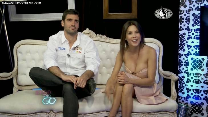Argentina celebrity Ursula Vargues hot cleavage HD video