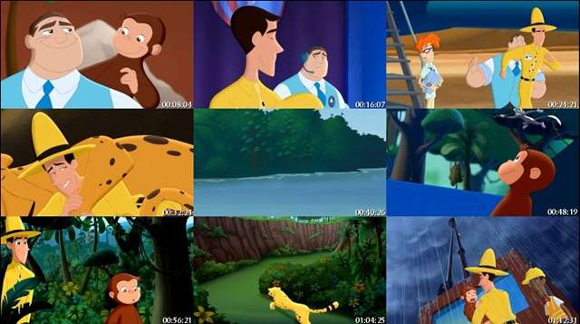 Curious George 3 Back to the Jungle DVDRip Latino