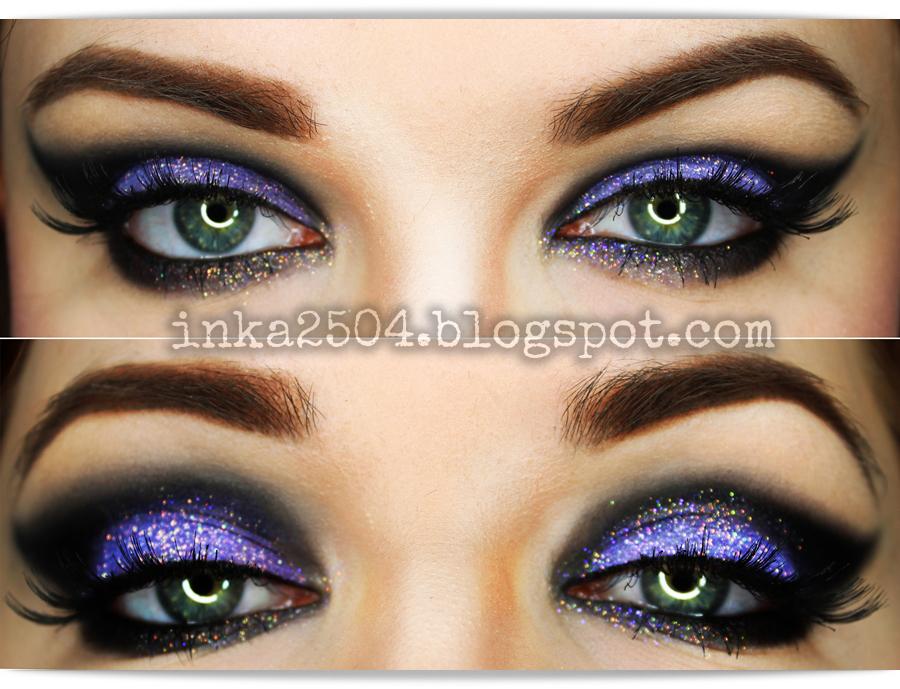 Mocny Brokatowy Makijaż Karnawałowy Tutorial Makeup Fashion Show