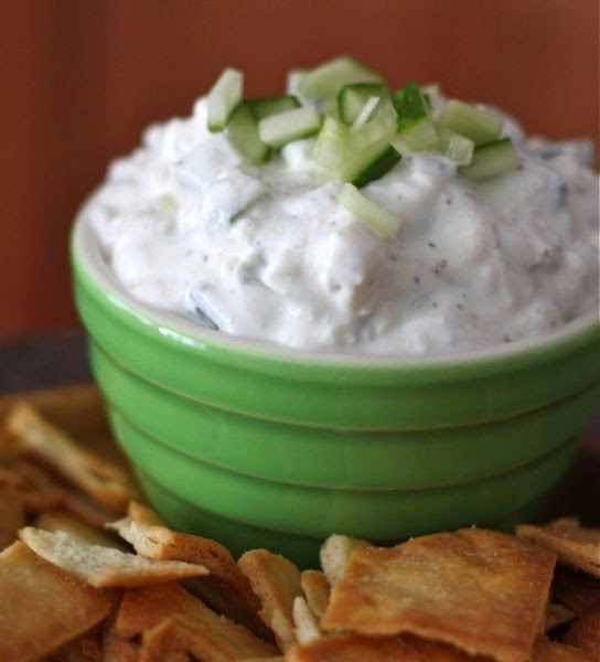 Feta & Greek Cucumber Yogurt Dip