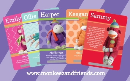 Monkeez Do Good Cards