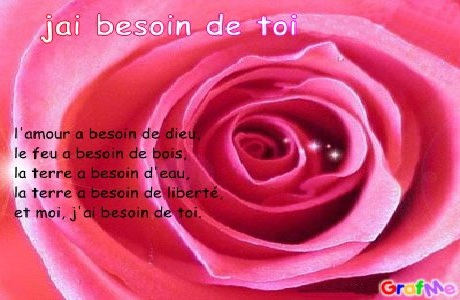 sms poeme d'amour