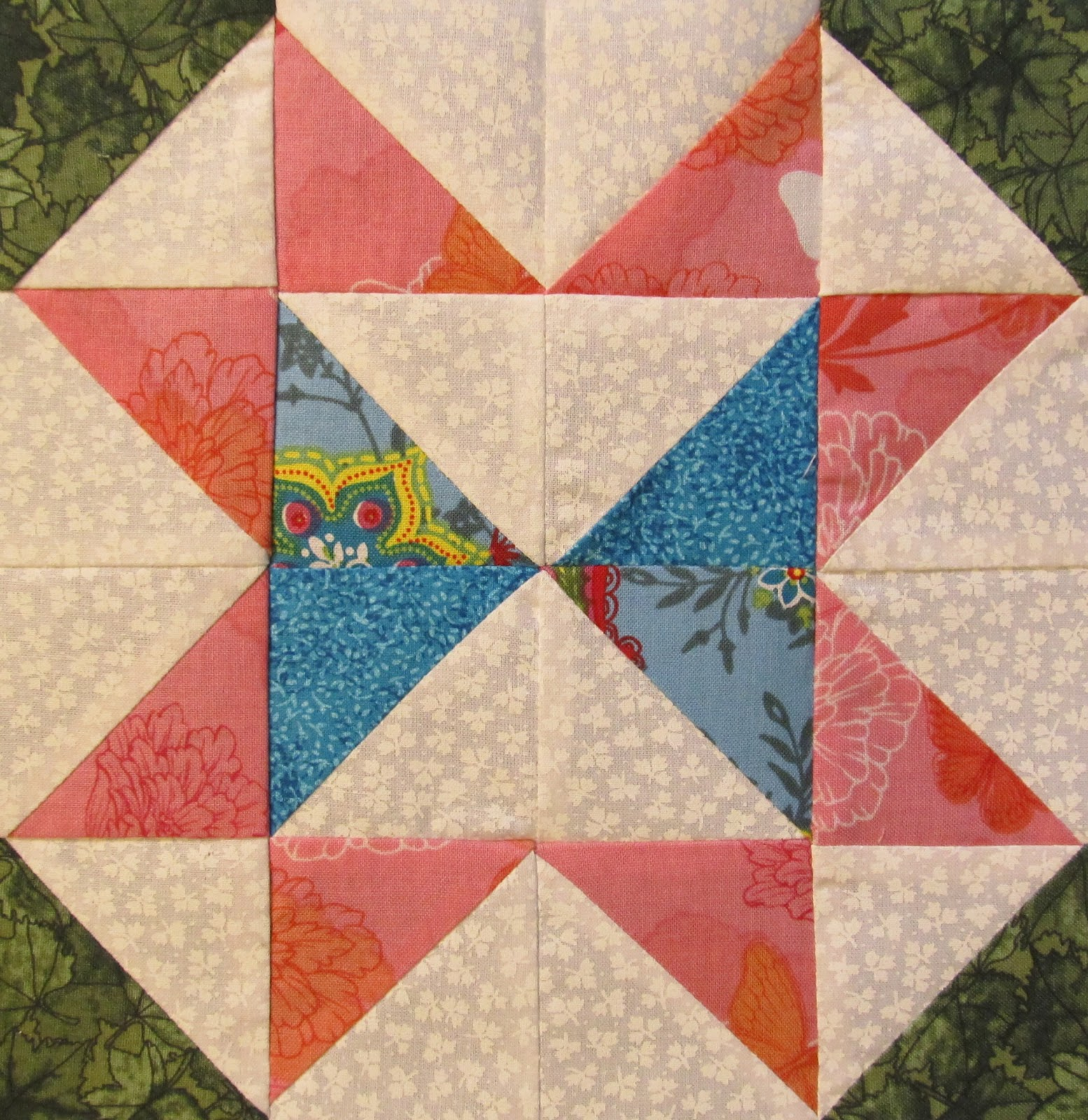 The Quilt Ladies Book Collection Star Block Of The Month Quilt