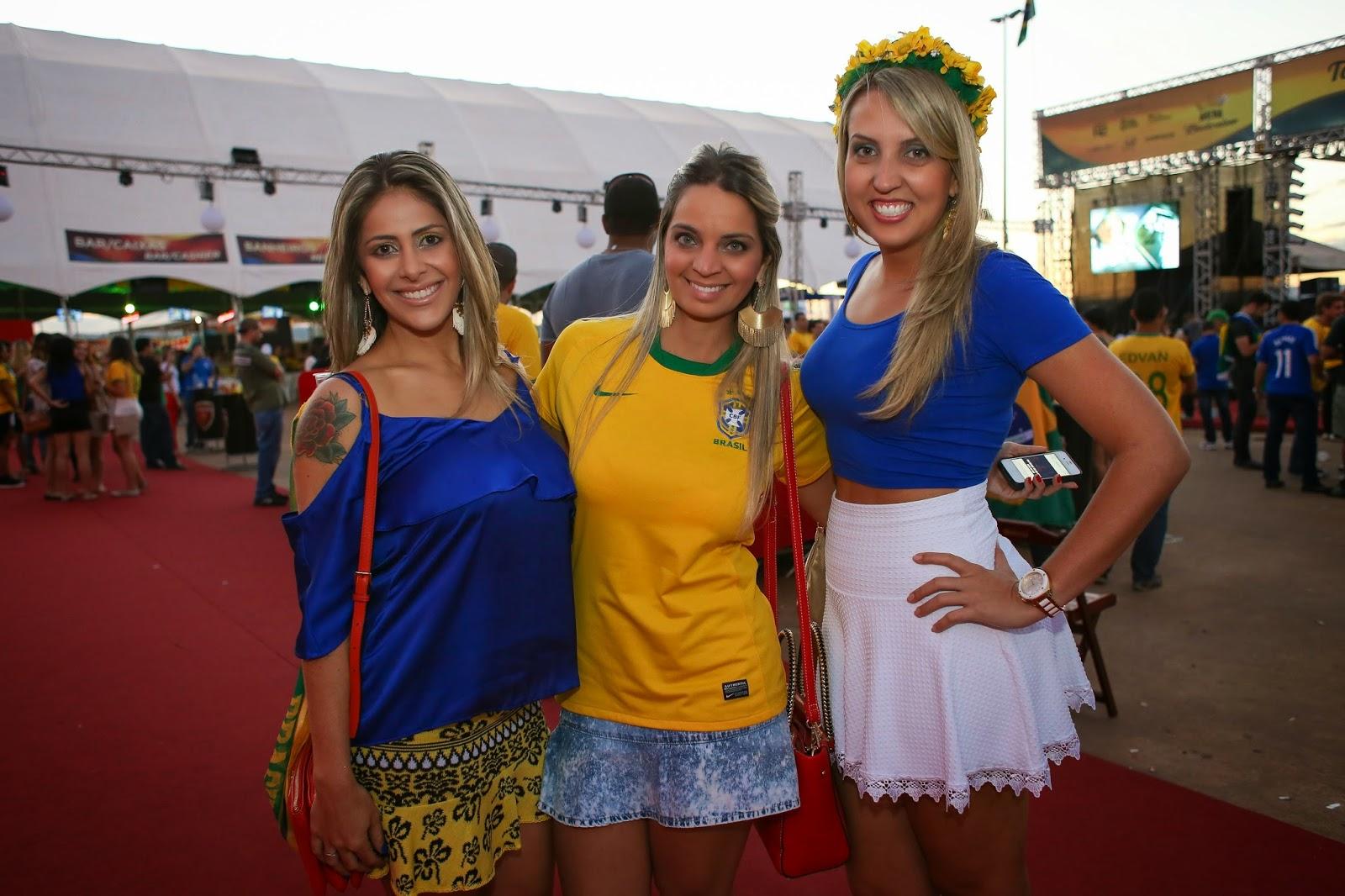 Malu Ferreira, Glenda Nava e Samira Diniz