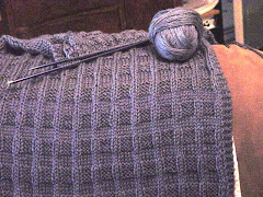 My Blue Prayer Shawl