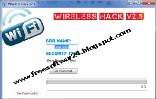 WiFi Password Cracker V2.5