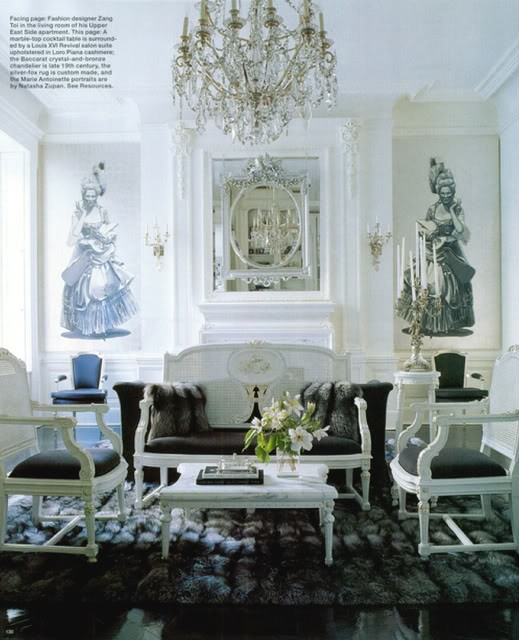 Eye for design decorating parisian chic style for Home decorations paris
