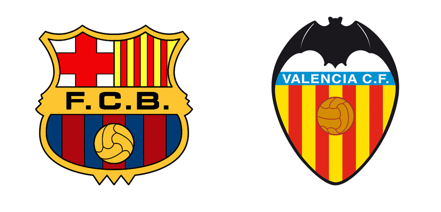 Resultado de imagen de fc barcelona - valencia cf