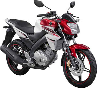 New Yamaha Vixion White-Reddish Lightning