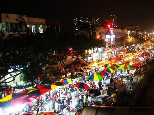 (Senarai) Hari & Lokasi Tempat Pasar Malam Di Melaka