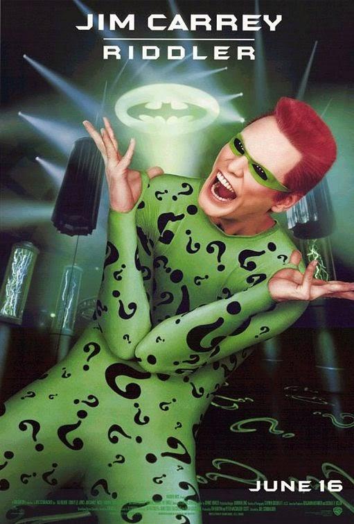 Batman Forever riddler poster