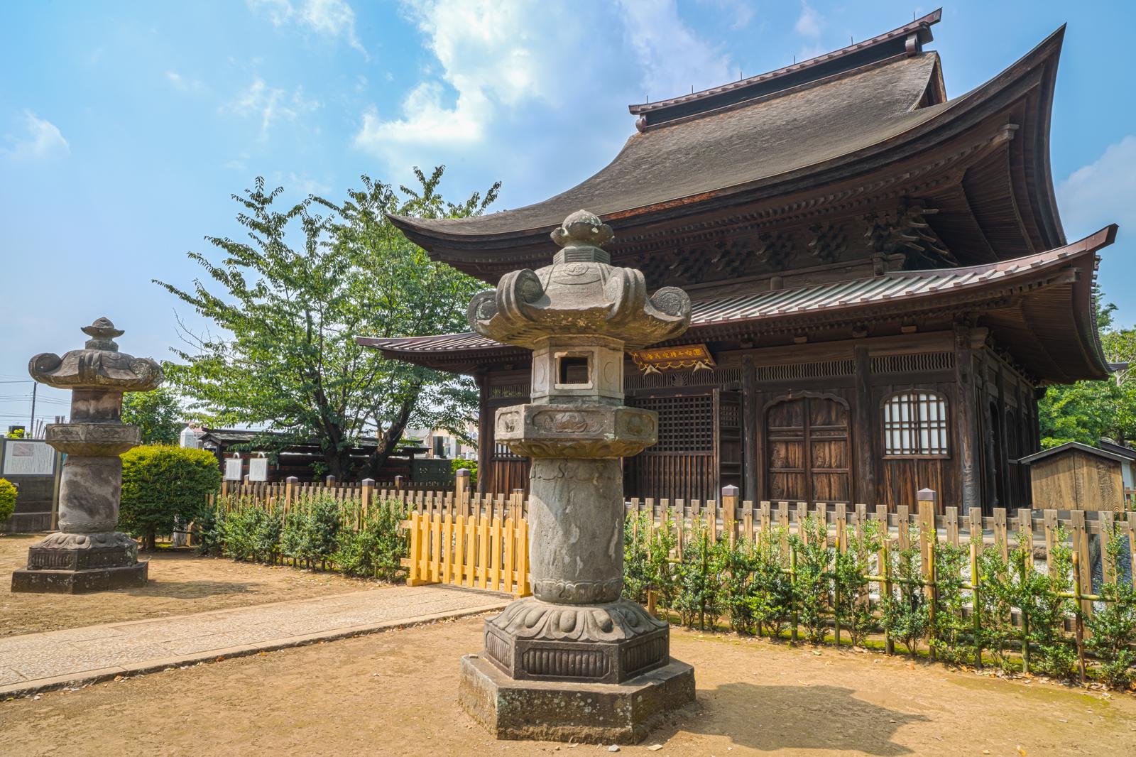 国宝、正福寺千体地蔵堂の写真