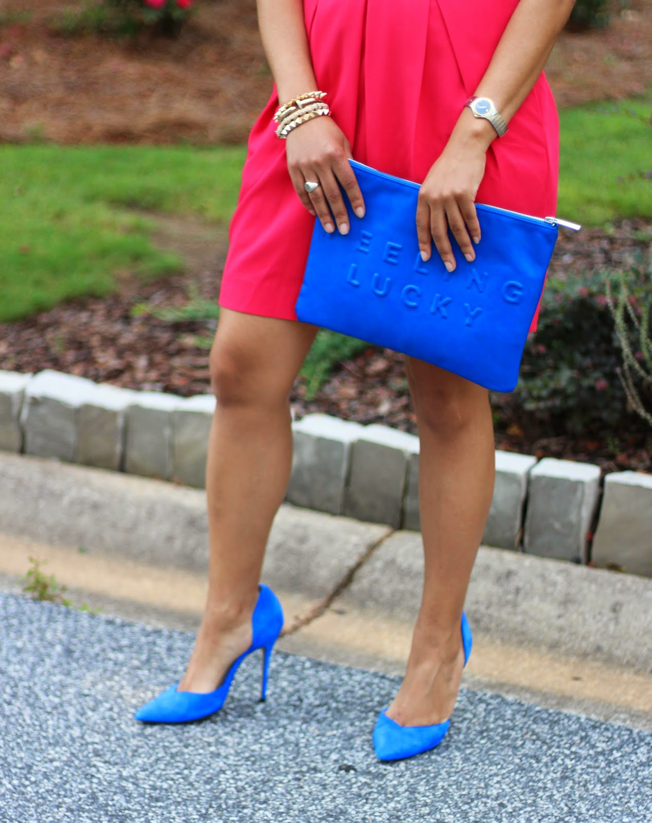 Zara-Blue-D-Orsay-Pumps