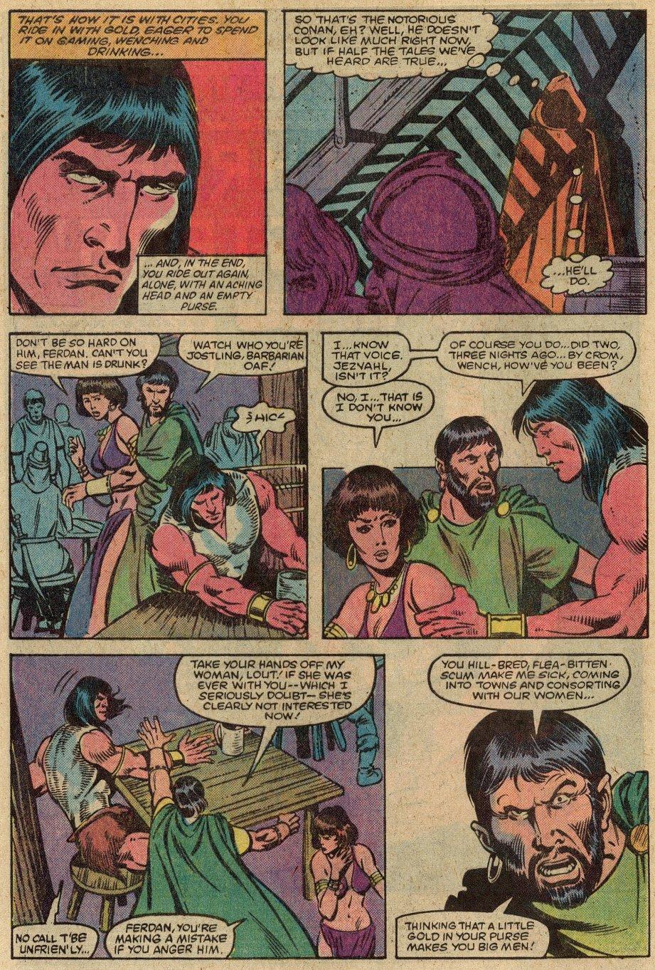 Conan the Barbarian (1970) Issue #146 #158 - English 5