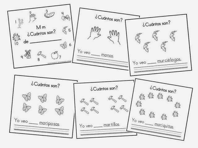 http://www.mommymaestra.com/2013/08/the-letter-m-counting-book-in-spanish.html