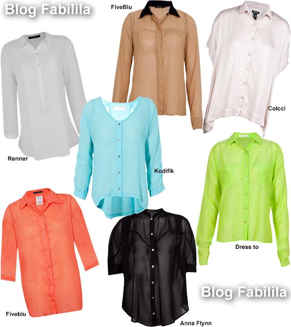 Camisa feminina Seda Cetim