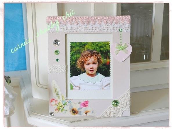 shabby chic photo frame