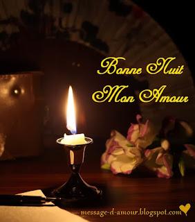 Message d'amour de bonne nuit