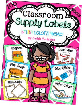 https://www.teacherspayteachers.com/Product/Classroom-Supply-Labels-Bright-Colors-Theme-1151795