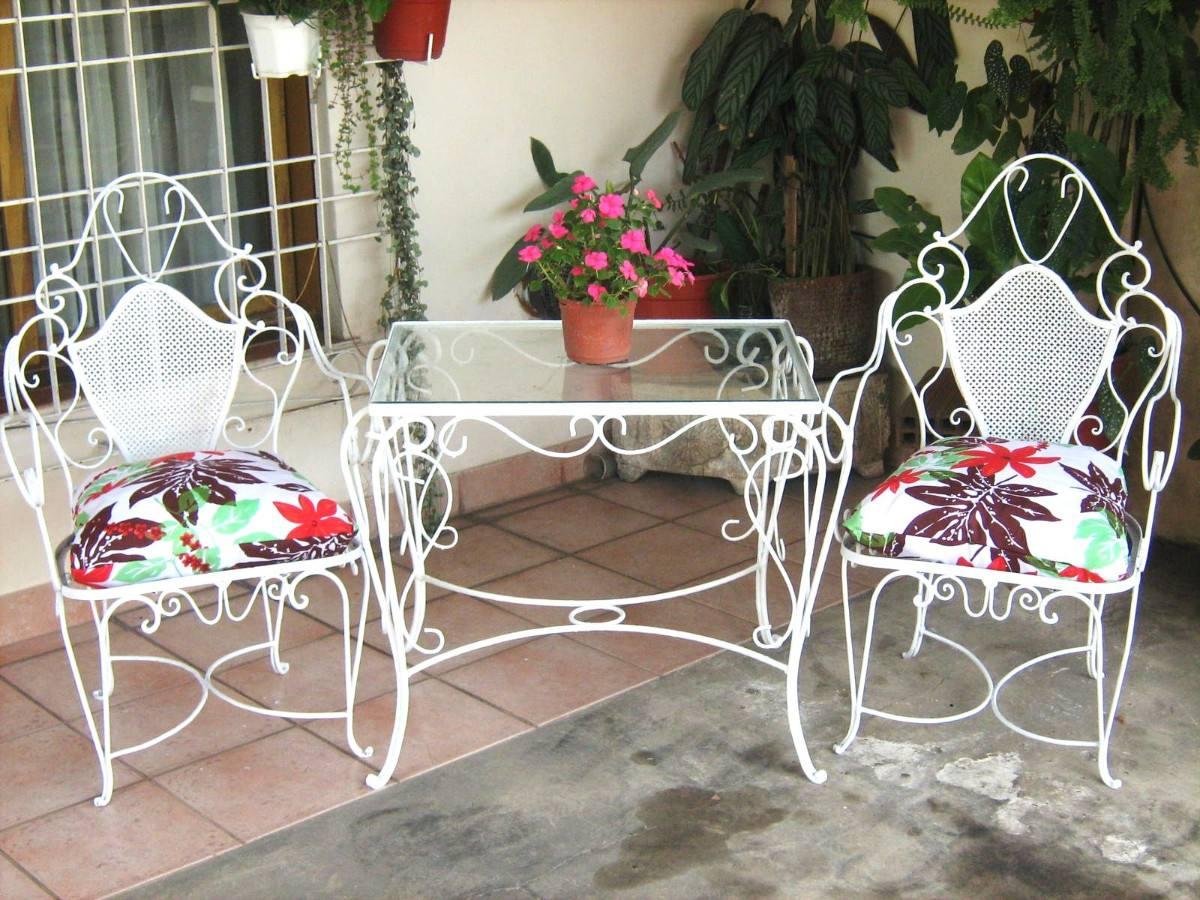 Emejing juegos de jardin hierro fundido photos design - Muebles de jardin ...