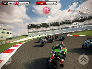 Screenshots of the SBK15: Official mobile game for Android tablet, phone.