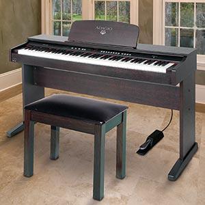 Az piano reviews review adagio kdp8826 xdp400 for Yamaha 88 key digital piano costco
