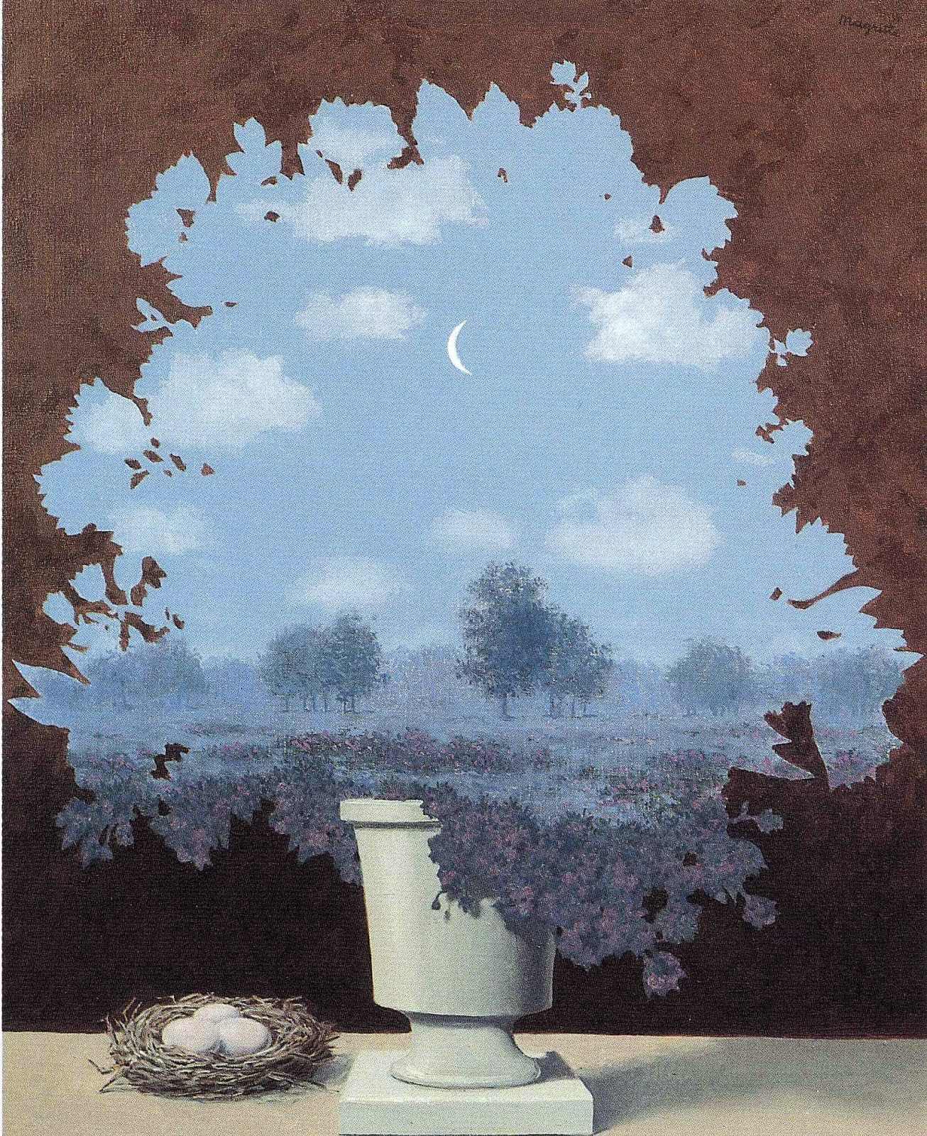 000...Surrealismo...000 - Página 2 Rene+Magritte+the-land-of-miracles-1964(1)