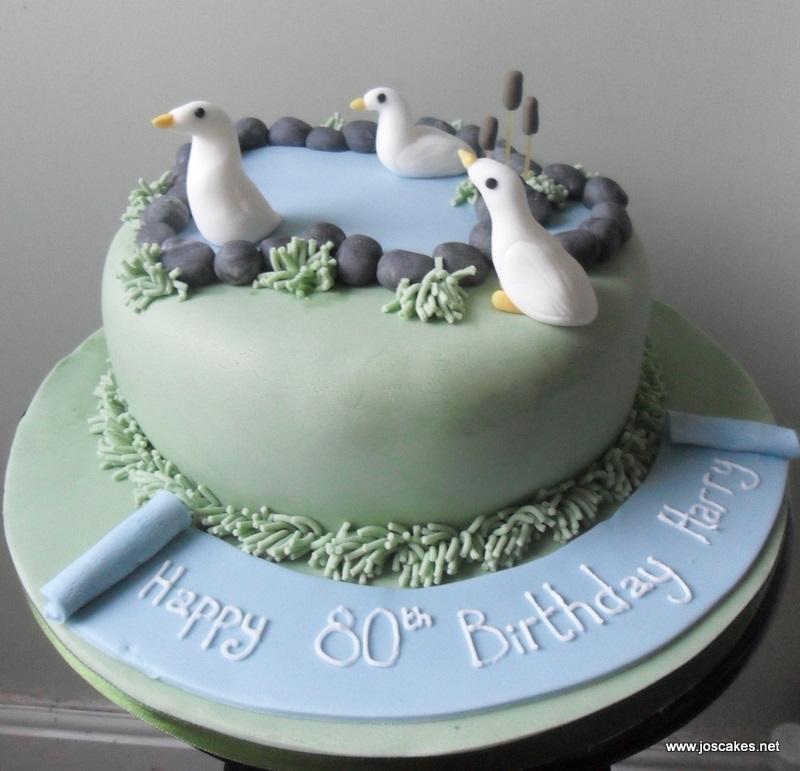 Jos Cakes 80th Birthday Cake