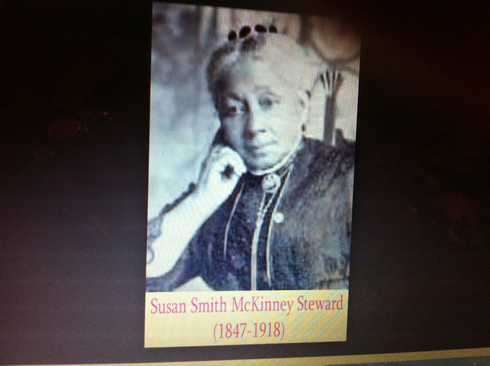 susan mckinney steward an african american physician Drsusan smith mckinney steward(1847-1918) was the first african american woman to earn a medical doctorate (md.