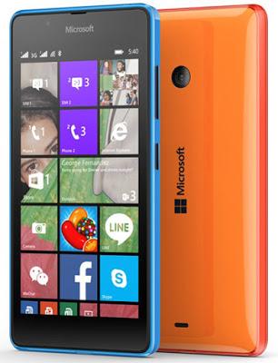 Spesifikasi dan Harga Microsoft Lumia 540 Dual SIM Terbaru