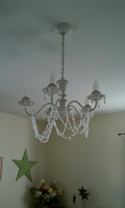 Why Buy When You Can Diy Shabby Chic Chandelier