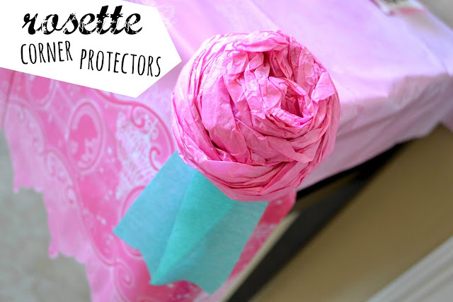 Mommy Testers DIY tissue paper rosettes for party #DreamParty