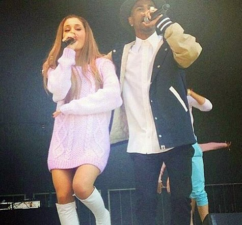 Ariana Grande: Easter Performance With Big Sean At White House