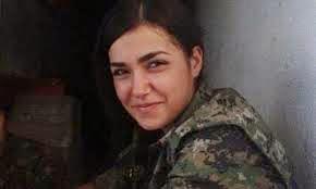 Sheid Arin, mártir de la resistencia kurda... ¡Hasta la victoria!
