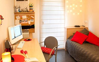 Alquilar y estudiar en barcelona residencias para for Habitaciones para universitarios