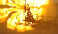 Φλόγα Δοκιμής Καύσης Φυσικού Αερίου.