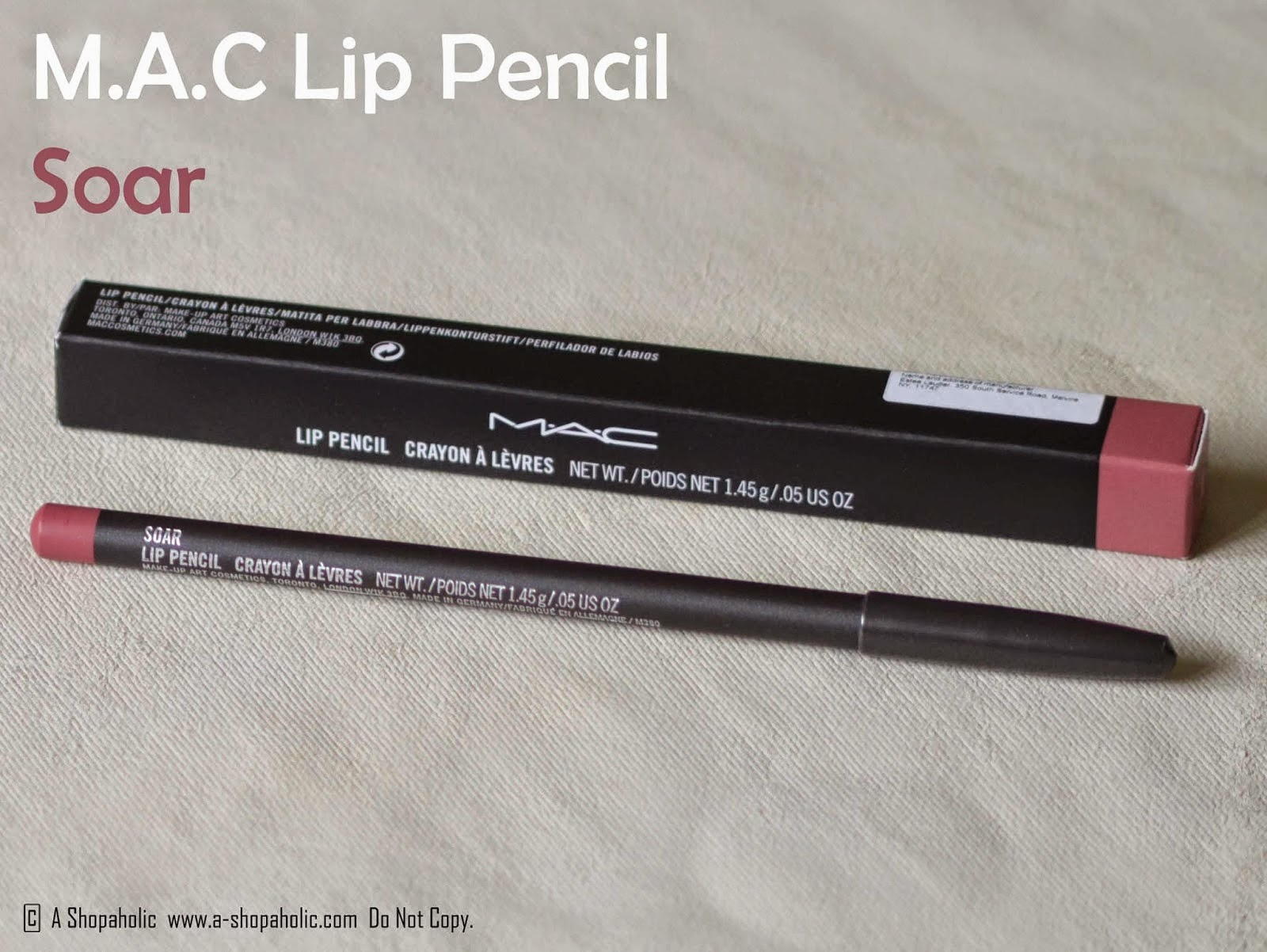Favori DivaDebbi: A Crisis! MAC's Soar Lip Pencil is out of stock EVERYWHERE QE71