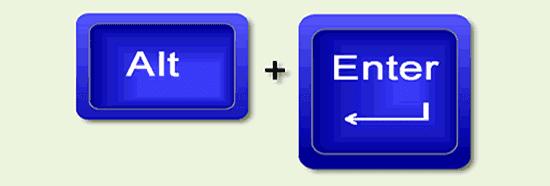 Atalho de teclado propriedades de um arquivo