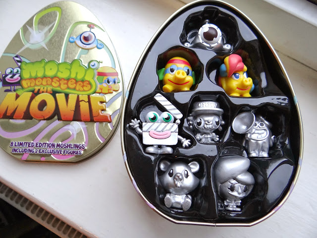 Moshi Monsters The Movie, Limited Edition The Movie Tin, Exclusive moshlings