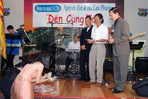Đêm ra mắt 3 CDs Ng. Hải & H.L.Phương