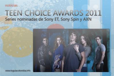 Noticias | Series de Sony ET, AXN y Sony Spin nominadas en Los Teen Choice Awards