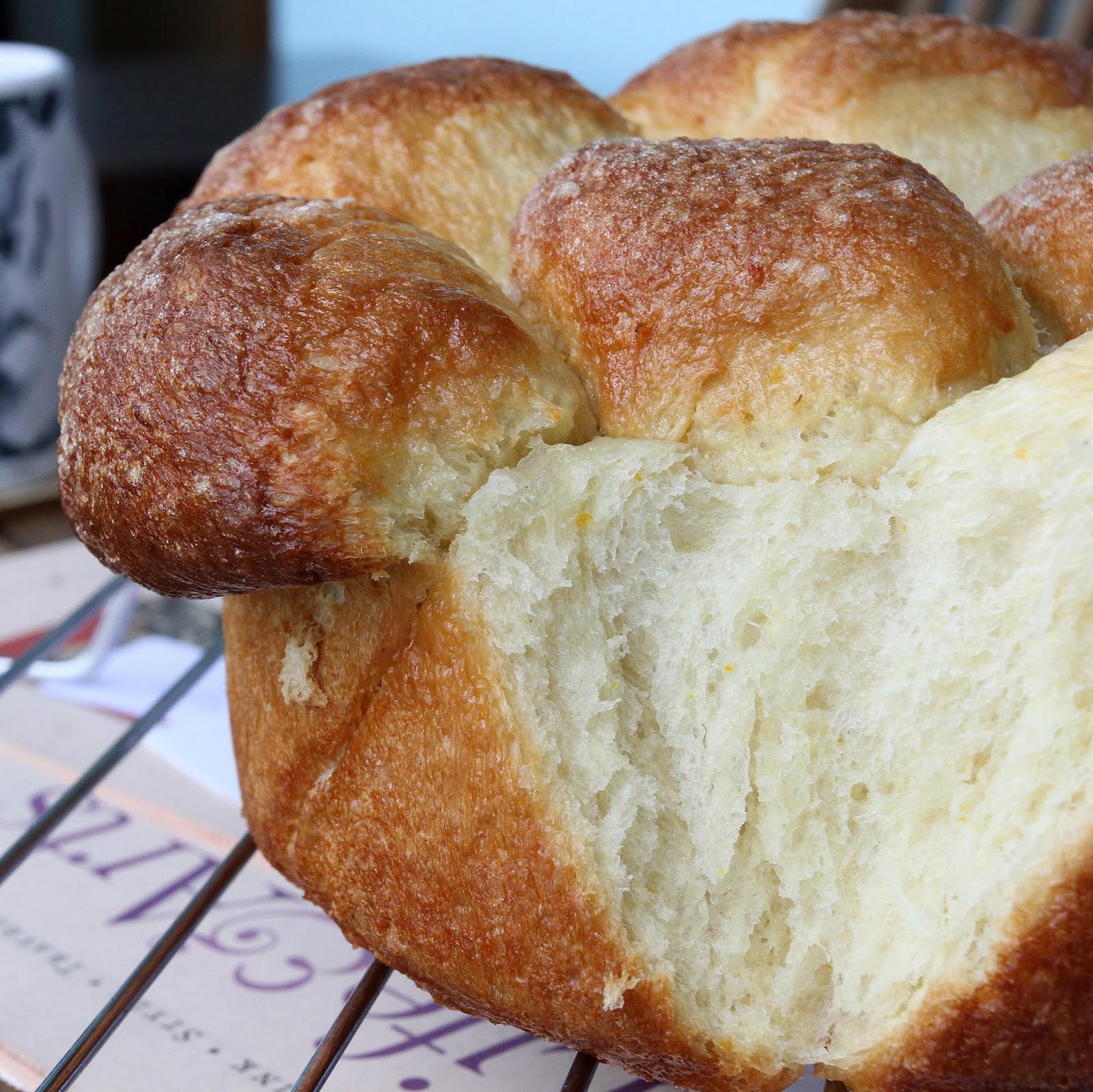 Orange Pull-Apart Loaf Recipe — Dishmaps