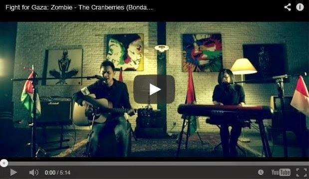 Fight for Gaza: Zombie - The Cranberries (Bondan Prakoso & Kikan acoustic cover)