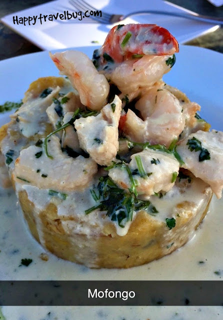 A local Puerto Rican dish called Mofongo