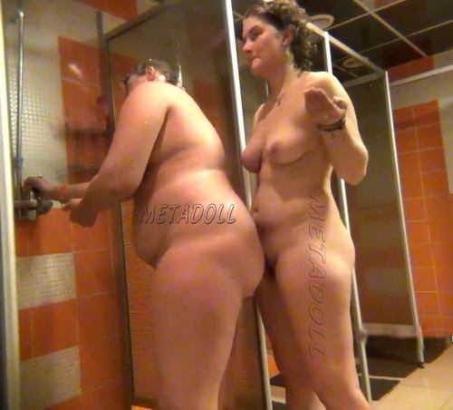Shower Spy 179-188 (Hidden cam in shower room with many nude girls)