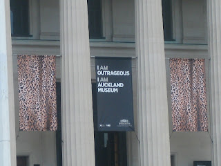 Auckland Museum Sign!