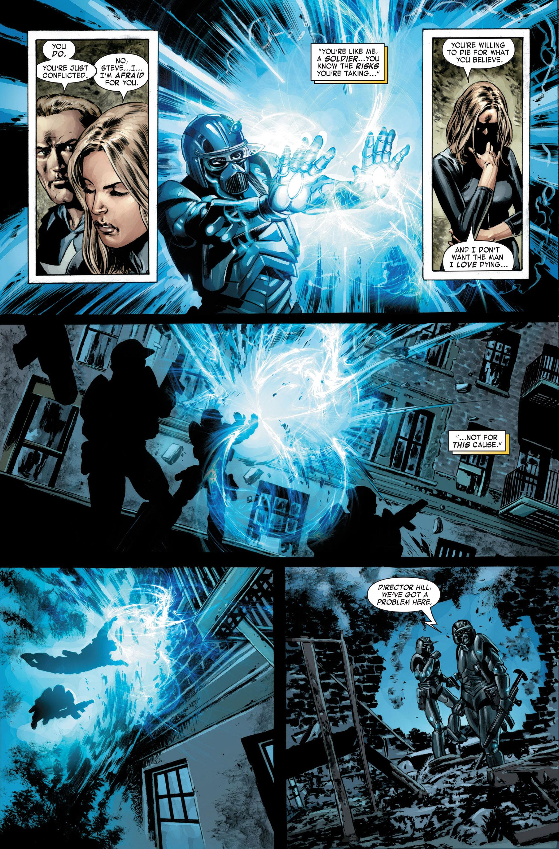Captain America (2005) Issue #22 #22 - English 19