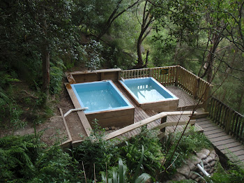 Hot spring spa pools