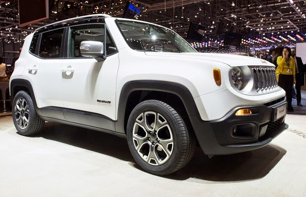 Novo Jeep Renegade 2015 fotos
