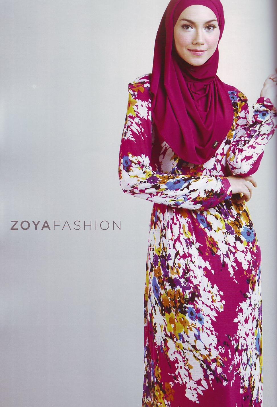 Baju Hijaber Trend Terbaru Koleksi Zoya Keren Koleksi